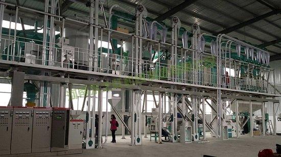 150吨玉米加工成套设备