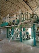 吉林四平60吨玉米成套设备安装完成