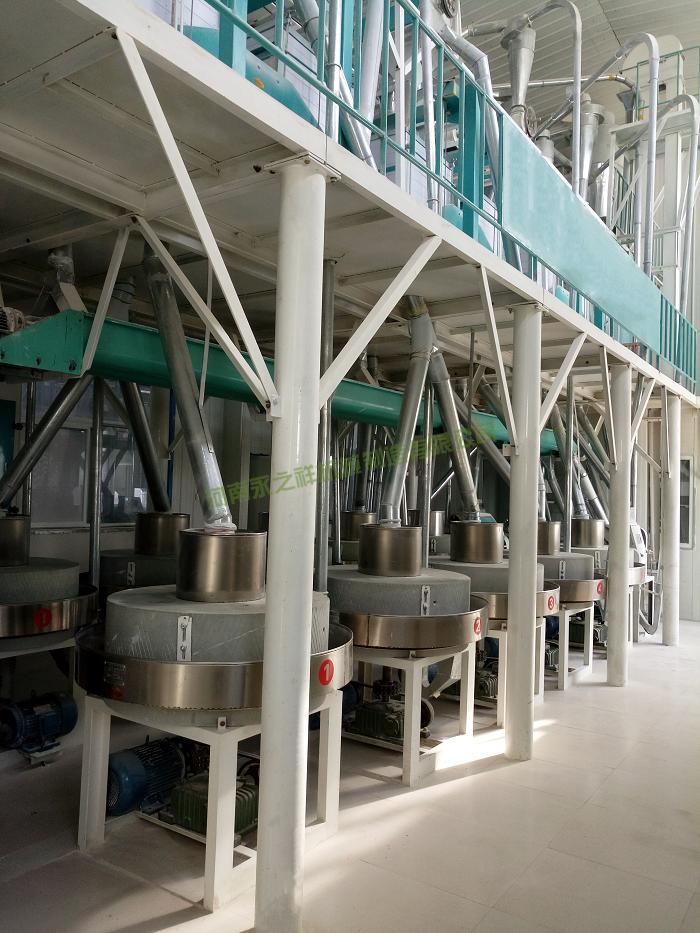 日加工30吨石磨制粉设备