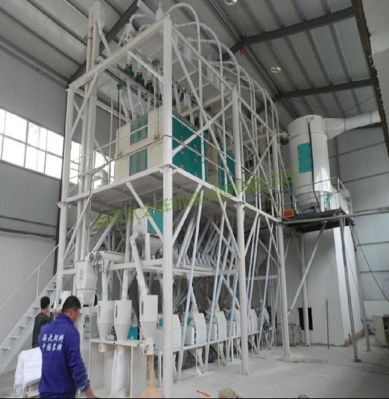 日加工60吨成套面粉机组