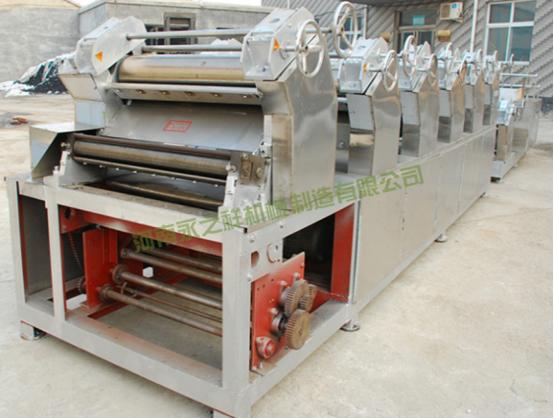 550型中低温挂面机生产线