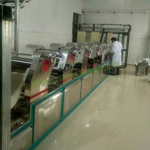 650型中低温挂面机生产线