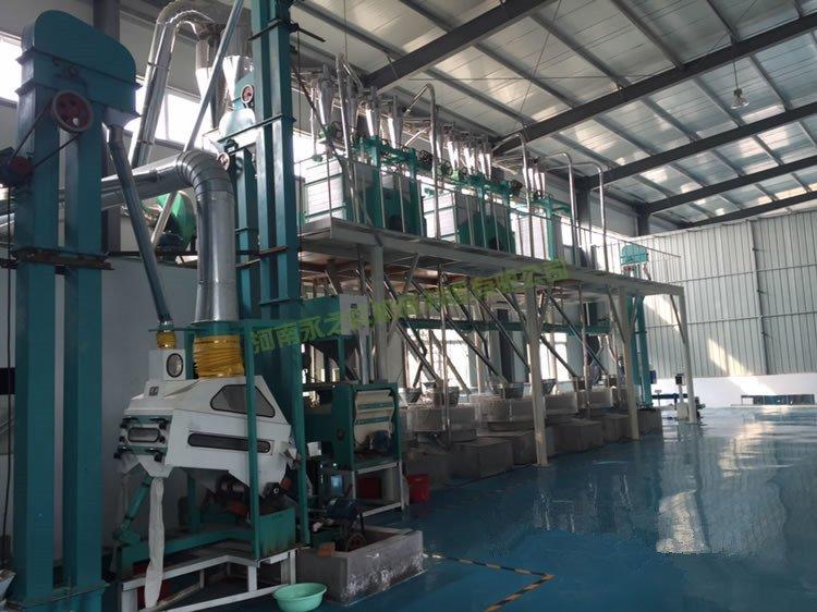 日产15吨石磨面粉机