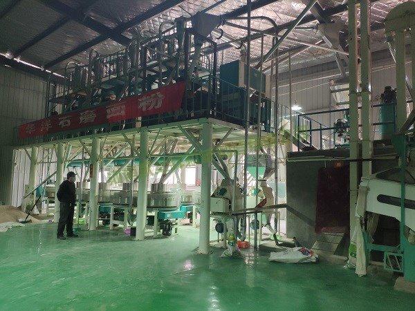 日产20吨石磨面粉机