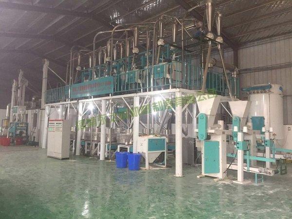 日产30吨石磨面粉机