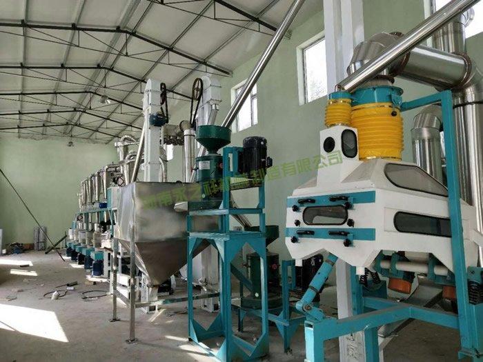 山西忻州石磨豌豆脱皮制粉设备