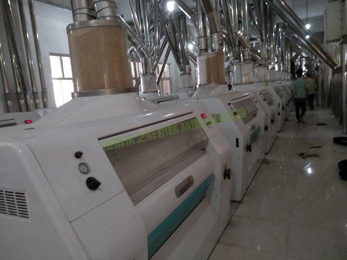 陕西西安日加工400吨面粉成套设备