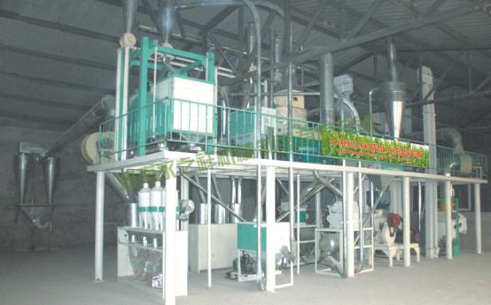 50吨玉米加工成套设备